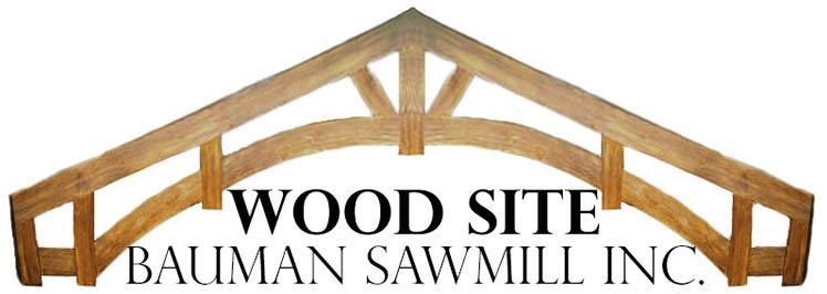 Wood Site, Bauman Sawmill, Inc. - Logo