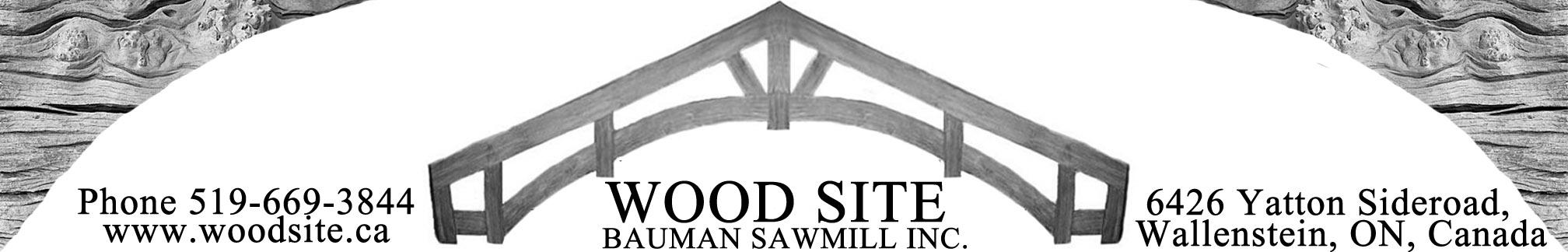 Bauman Sawmill | Home